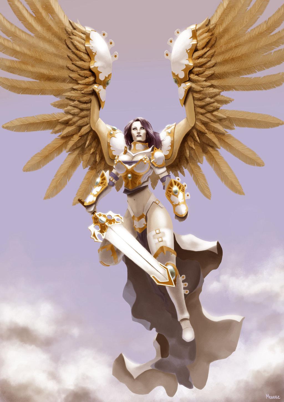 Картинки с ангелами девушками
