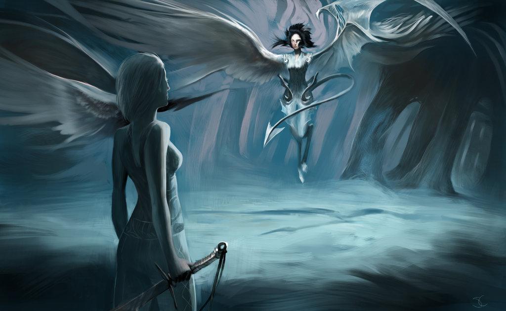 картинки демонов девушек