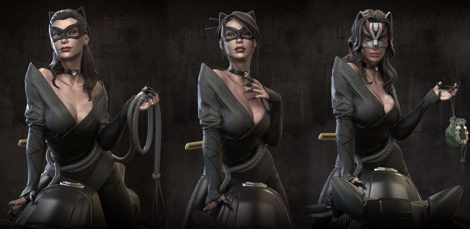 Catwoman 3d pornos images