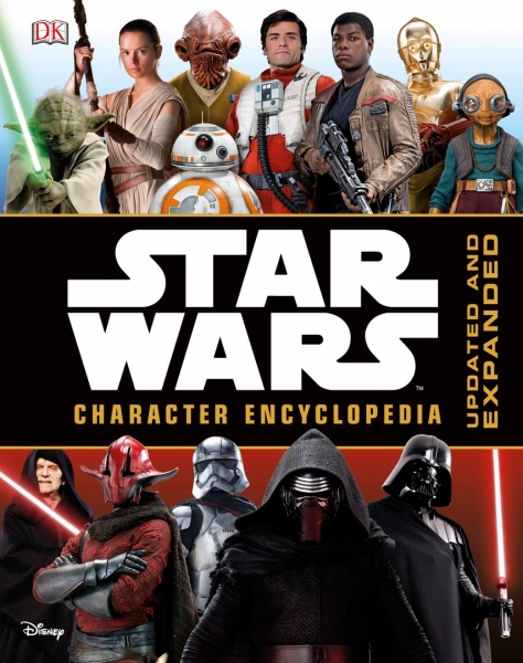 Анонсирована книга Star Wars Character Encyclopedia: Updated and Expanded