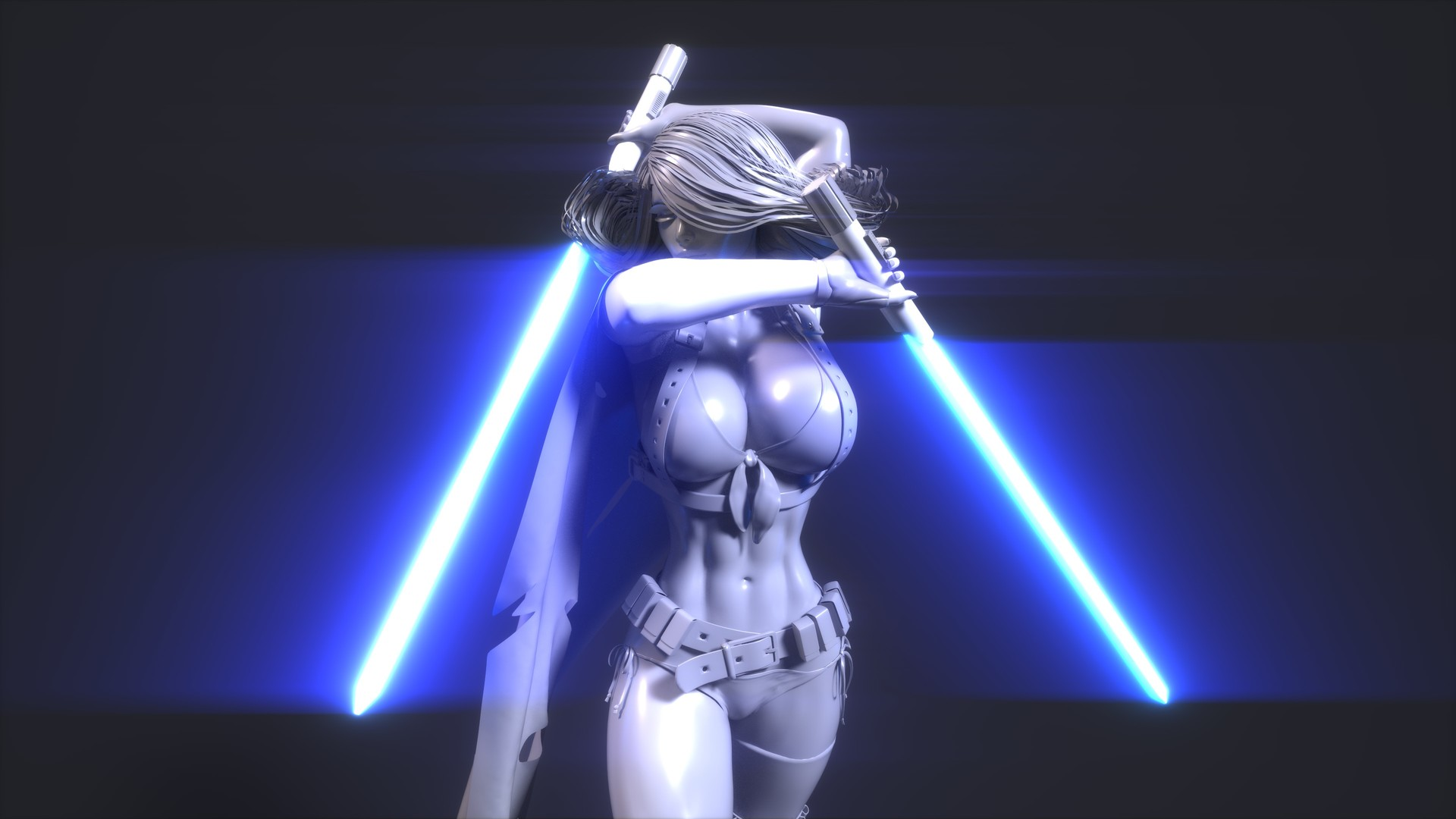 Girl sex in star wars hentai picture
