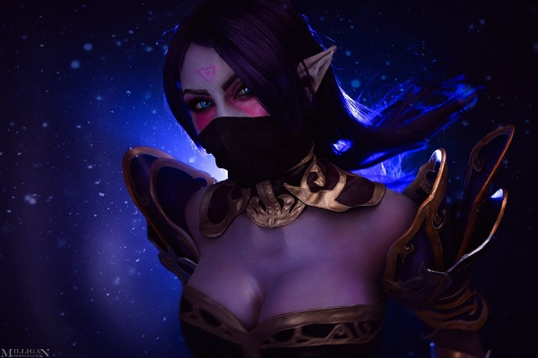 Косплей на Templar Assassin от Роксоланы Ридель